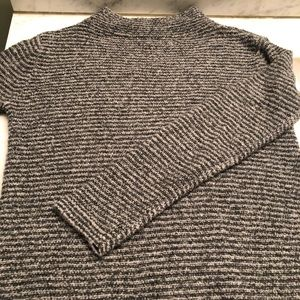 Old Navy mock-neck sweater.